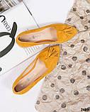 Элитная коллекция! Стильные женские туфли лоферы с кисточками, фото 5