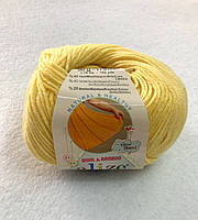 Пряжа Baby Wool 50гр - 175м (187 Желтый) Alize, Детская пряжа (40%-шерсть, 20%-бамбук, 40%-акрил,Турцию