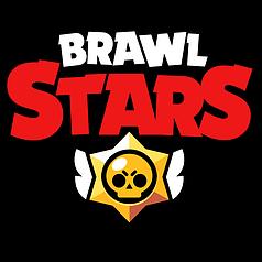 Наклейка на коробку-сюрприз Brawl Stars / Бравл Старс надпись