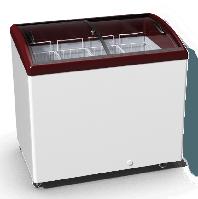 Морозильный ларь стекло Juka M300S, фото 1