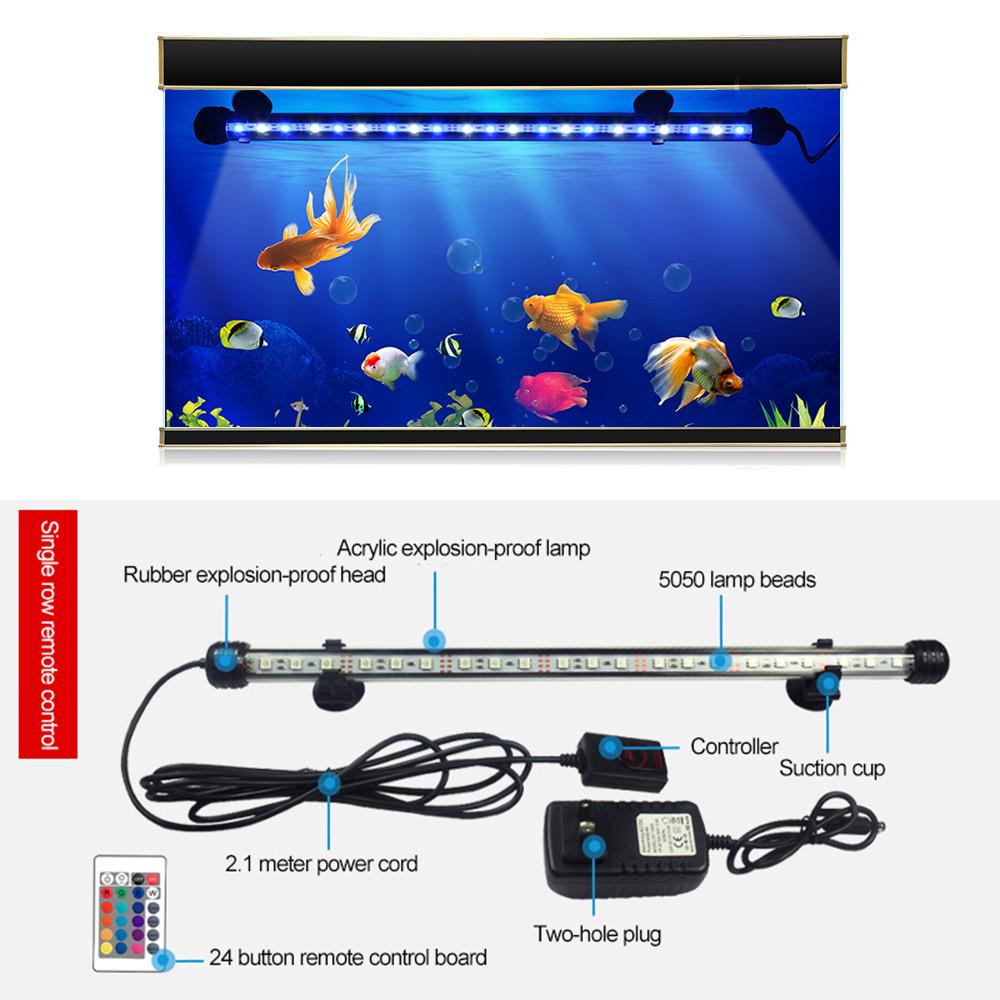 Диффузор с дистанционным управлением подсветкой воды в аквариуме 73 см