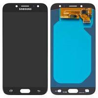Дисплей Samsung OLED J730 / J730F / J730H Galaxy J7 (2017) Black