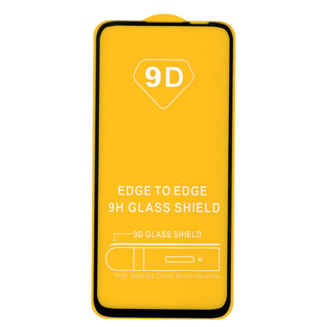 Защитное стекло для Huawei P40 lite (JNY-LX1), full glue, черный