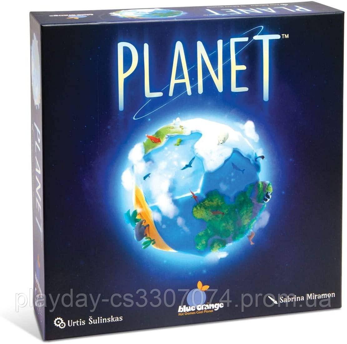 Настольная игра Планета Planet Blue Orange Games