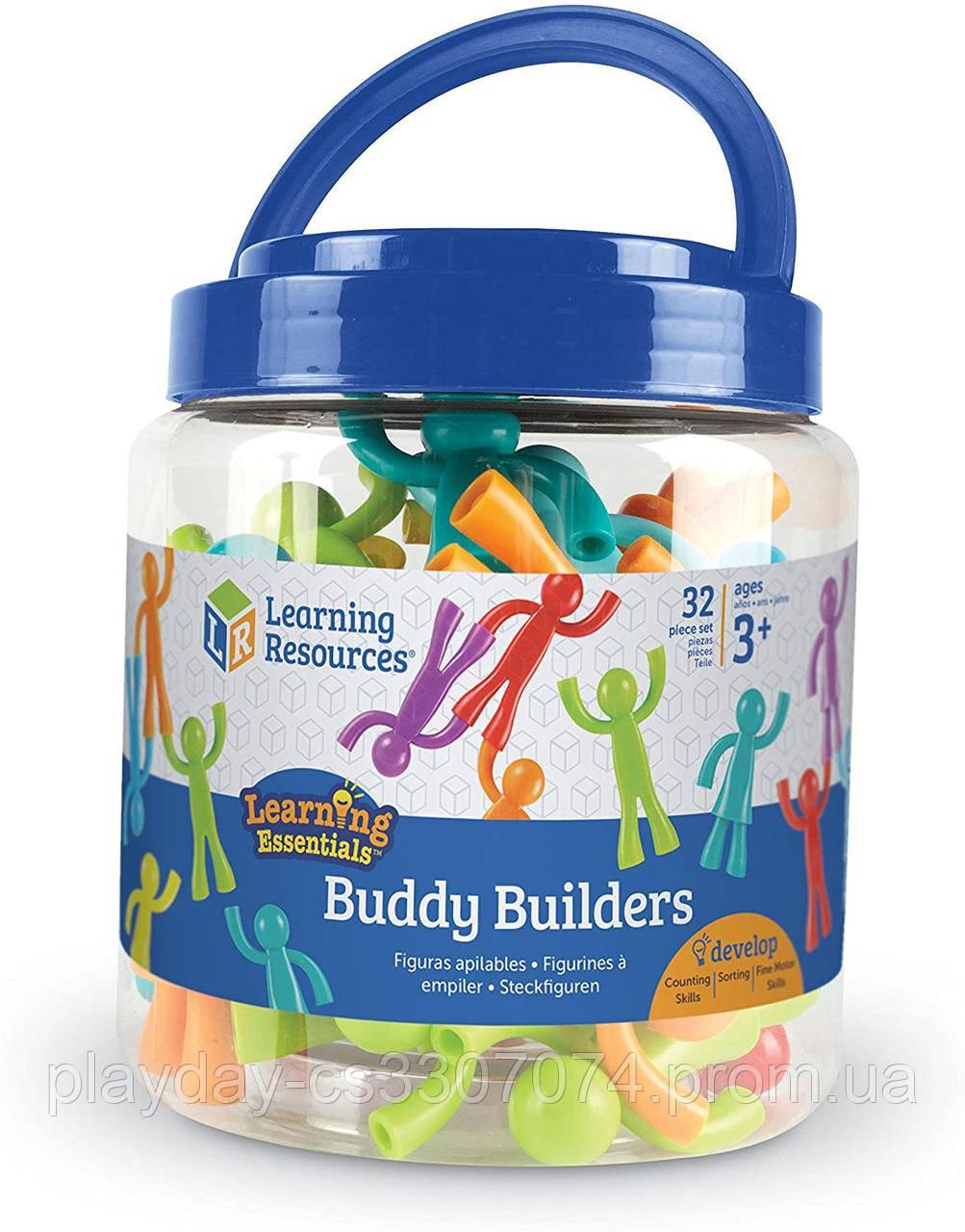 """Набор для сортировки и строительства  """"Друзья строители"""" Buddy Builders Learning Resources"""