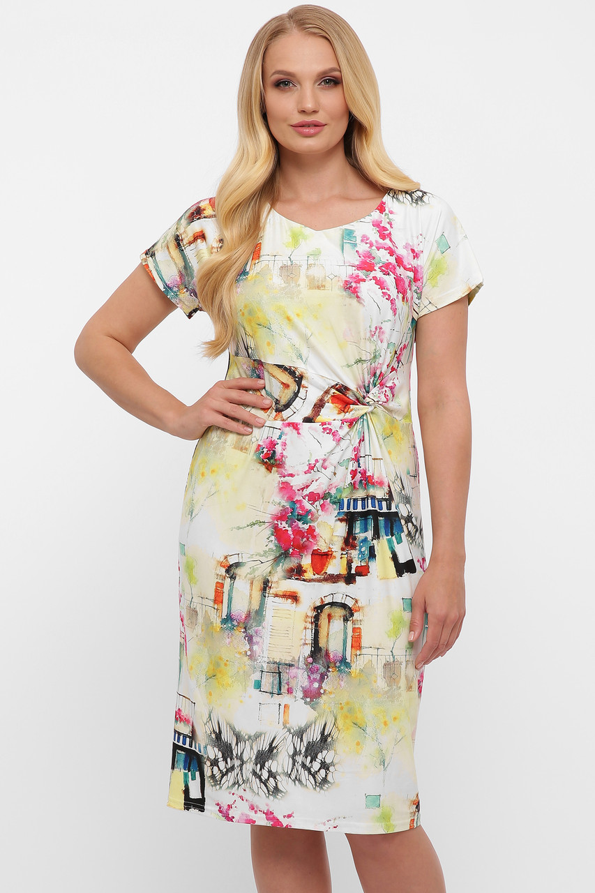 Сукня жіноча літнє Белла акварель