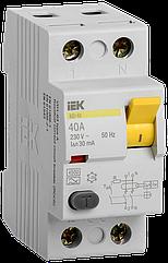 УЗО (устройство защитного отключения) ВД1-63 2Р 40А 30мА, ІЕК