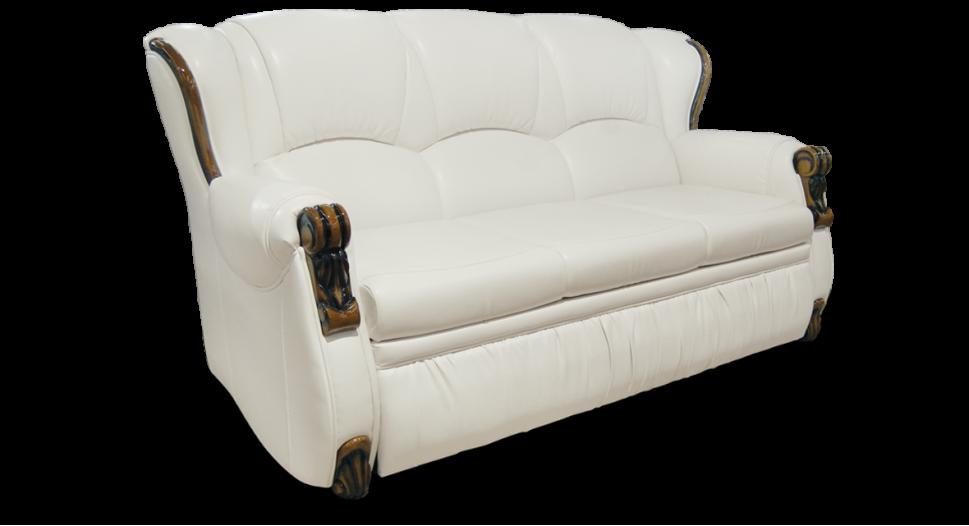 Белый классический диван  Богемия (дельфин)  фабрики Бис-М