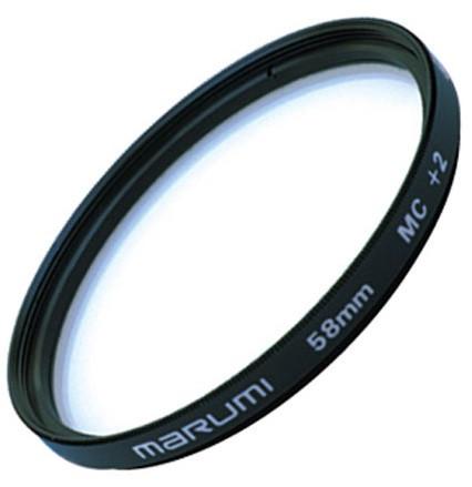 Светофильтр макро Marumi Close-up+2 MC 58 мм (61986)