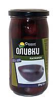 Оливки Домашні продукти 380г Каламон з кісточкою