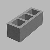 Блок для дымохода. Блок для вентиляционных каналов