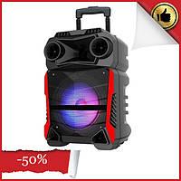 Аккумуляторная портативная колонка чемодан Ailiang LiGE-Q81F, беспроводная Bluetooth акустика