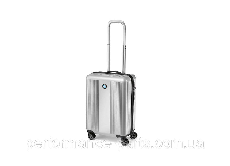 Чемодан для ручной клади BMW Logo Board Case, Silver 80222467645