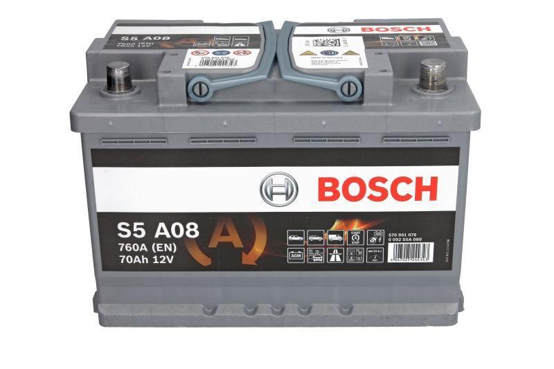 BOSCH 70Ah/760А START&STOP AGM R+