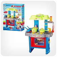 Игровой набор Bambi Кухня 008-26А набор (безопасный пластик;звуки приготовления пищи и льющейся воды дел)