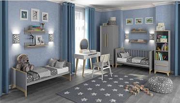 Шкаф для одежды Мила Серый, фото 3