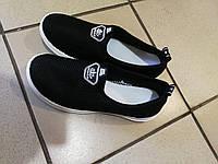 Летние черные макасины подросток  , 39, 40, 41  размер., фото 1