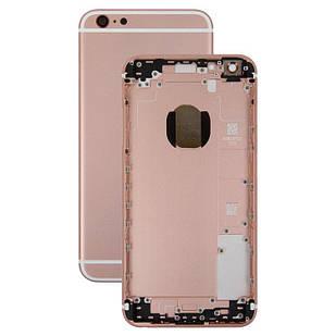 Корпус для iPhone 6S Plus, с держателем SIM-карты, с боковыми кнопками, розовый