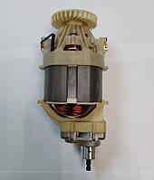 Электродвигатель триммера Элпром 1500 с редуктором в сборе
