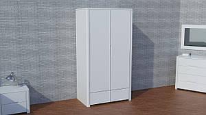 """Деревянный белый шкаф с полками """"Орео"""" из дерева"""