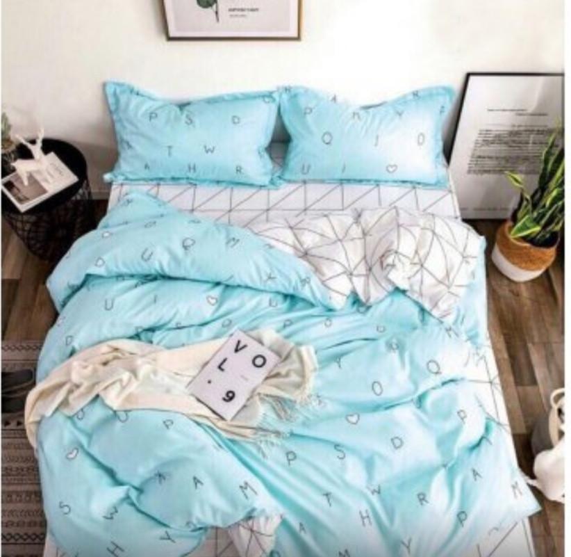 Красивое постельное белье, полуторка, кросфорд