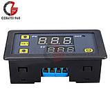 Таймер цифровой, цифровая индикация времени задержки, циклический режим. 220В 10A 1500W питание 220V, фото 7