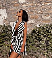 Стильный женский костюм жилет и шорты(42-48), фото 1