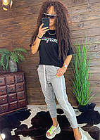 Костюм женский летний брюки футболка, фото 1