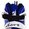 Роликовые коньки раздвижные ZELART синие Z-823B, фото 4