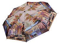 Автоматичний зонт Magic Rain Осінній місто ( повний автомат ) арт. MR7224-3, фото 1