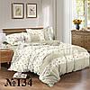 Комплект постельного белья семейный с простынью на резинке на матрас 160х200см, бязь 100% хлопок