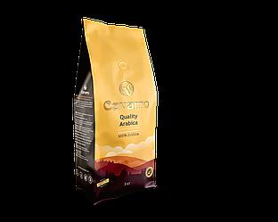 Кава в зернах CAVARRO QUALITY ARABICA 1кг