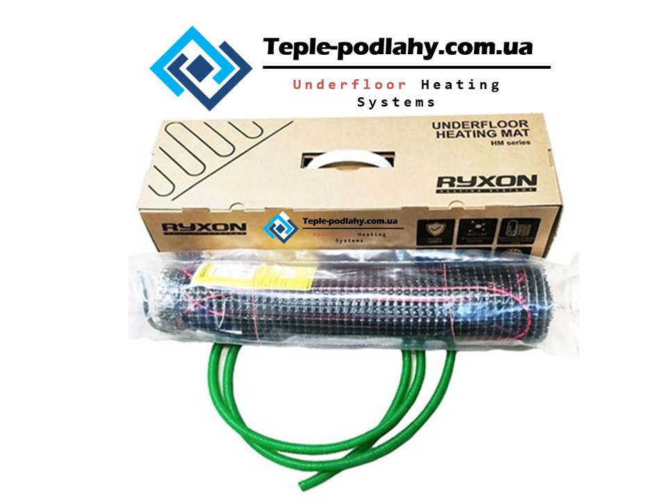 Нагревательний мат Ryxon HM-200 (11 м2) ОПТ