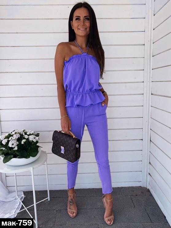 Модный женский костюм Разные цвета