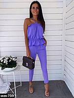 Модный женский костюм Разные цвета, фото 1