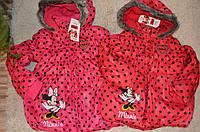Куртка для девочек Disney Minnie 104-134 см