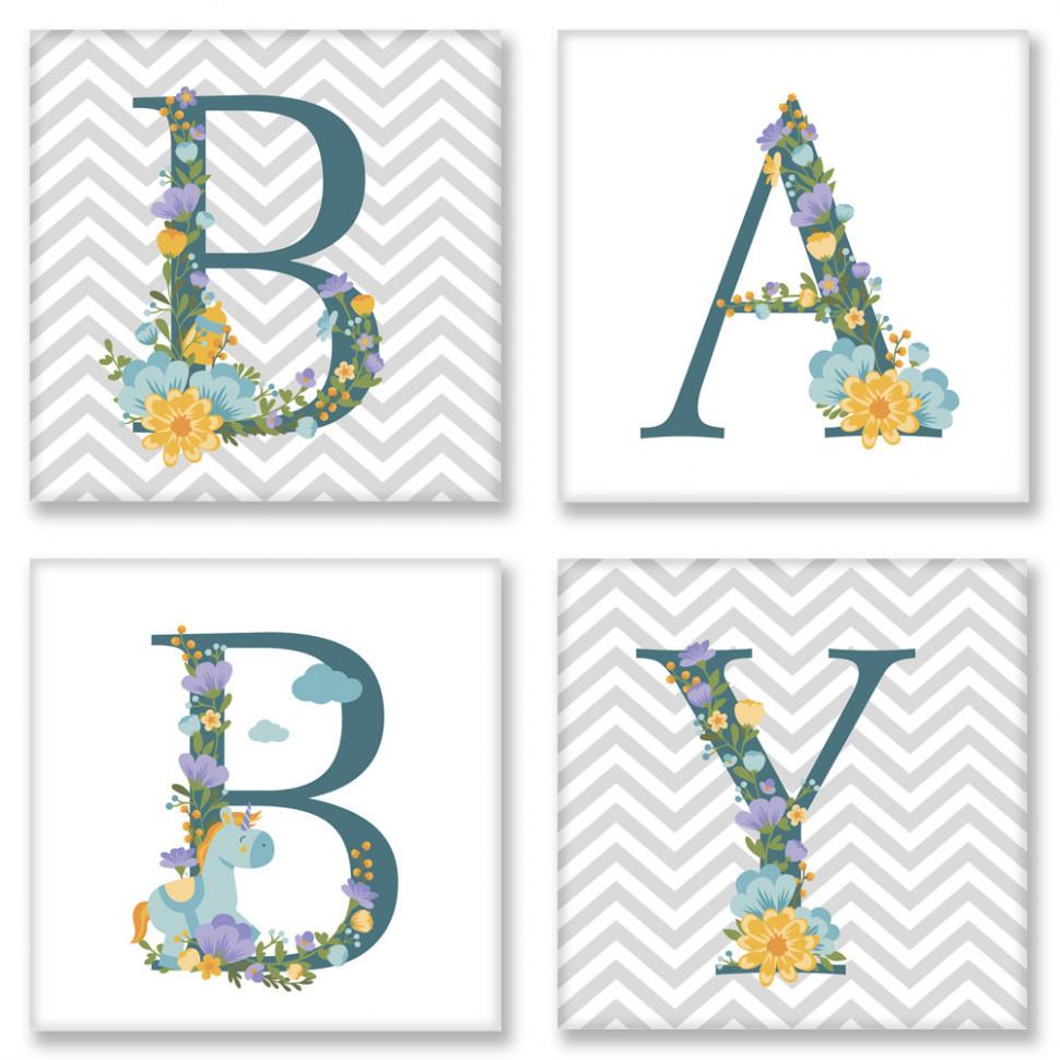 """Набор для росписи по номерам, """"BABY Сканд"""" 18*18 см*6,5 CH108"""