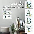 """Набор для росписи по номерам, """"BABY Сканд"""" 18*18 см*6,5 CH108, фото 2"""