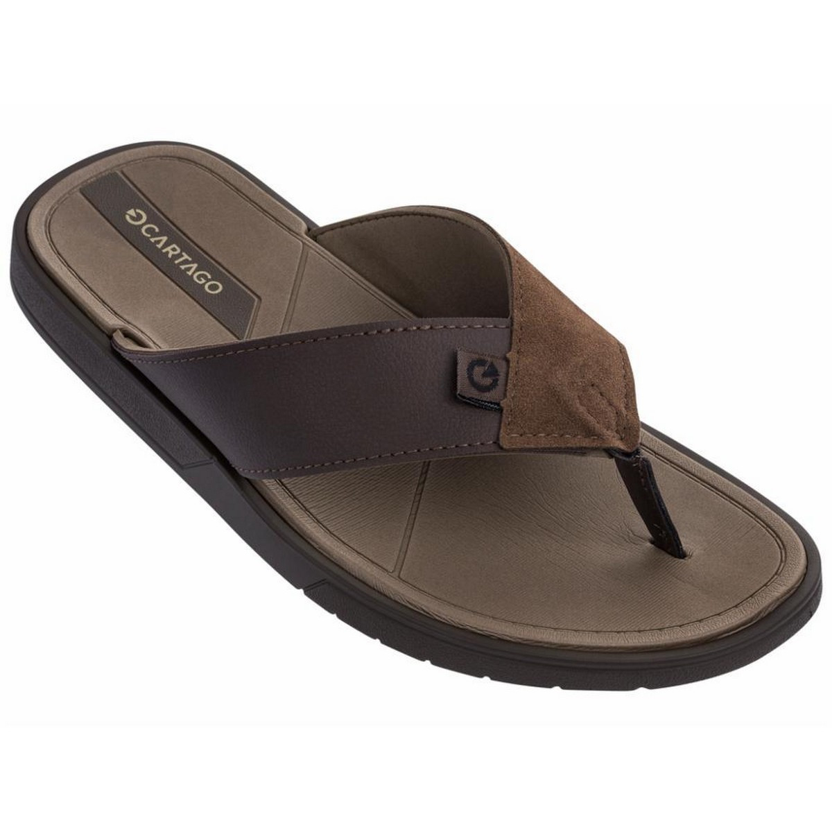 Вьетнамки Cartago Men 11377 23828/BROWN FLIP FLOP