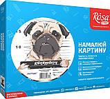 """Картина за номерами, Rosa """"Bad Puggy"""" 35х45см N00013215, фото 2"""