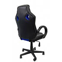 Крісло геймерське Bonro B-603 синє, фото 2