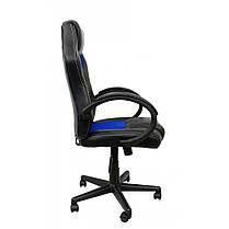 Крісло геймерське Bonro B-603 синє, фото 3