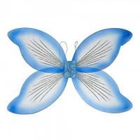 Крылья Феи (голубые) 45х70см