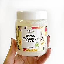 """Ароматизоване кокосове масло для волосся і тіла """"Манго"""" Top Beauty 250 мл"""