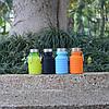 Силиконовая складная бутылка, Спортивная бутылка для воды, фото 3