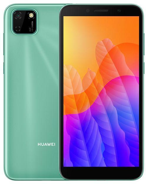 """Смартфон HUAWEI Y5P 2020 телефон мобильный с разблокировкой по лицу на 2 сим карты 5,45"""" 2/32Gb зеленый"""