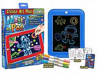 Детский планшет для рисования Magic Pad 3D, планшет рисуй светом
