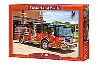 """Пазлы Castorland 500 """"Пожарная машина"""", В-52660"""