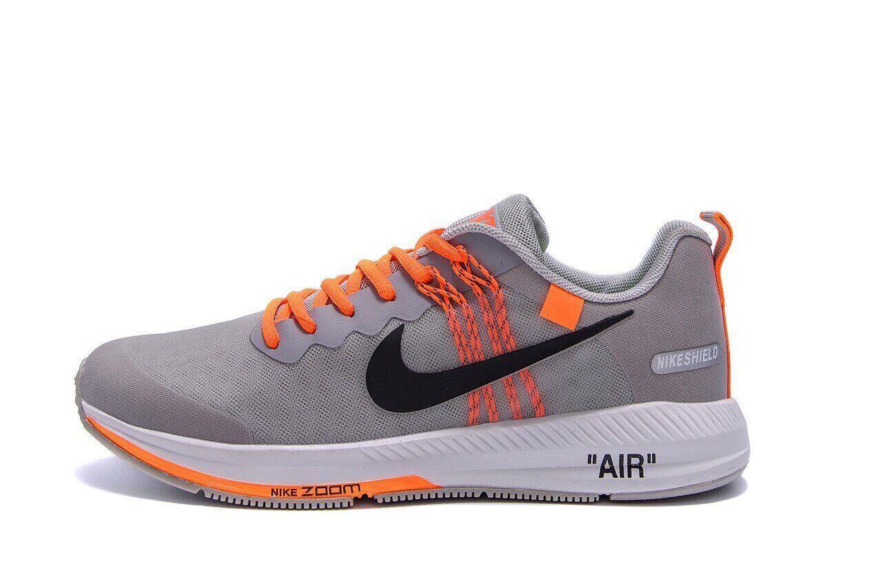 Мужские летние кроссовки сетка Nike AIR Max GREY .