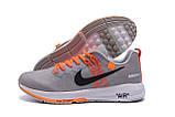 Мужские летние кроссовки сетка Nike AIR Max GREY ., фото 5